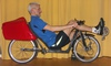 photo of my ZOX 20 lowracer recumbent